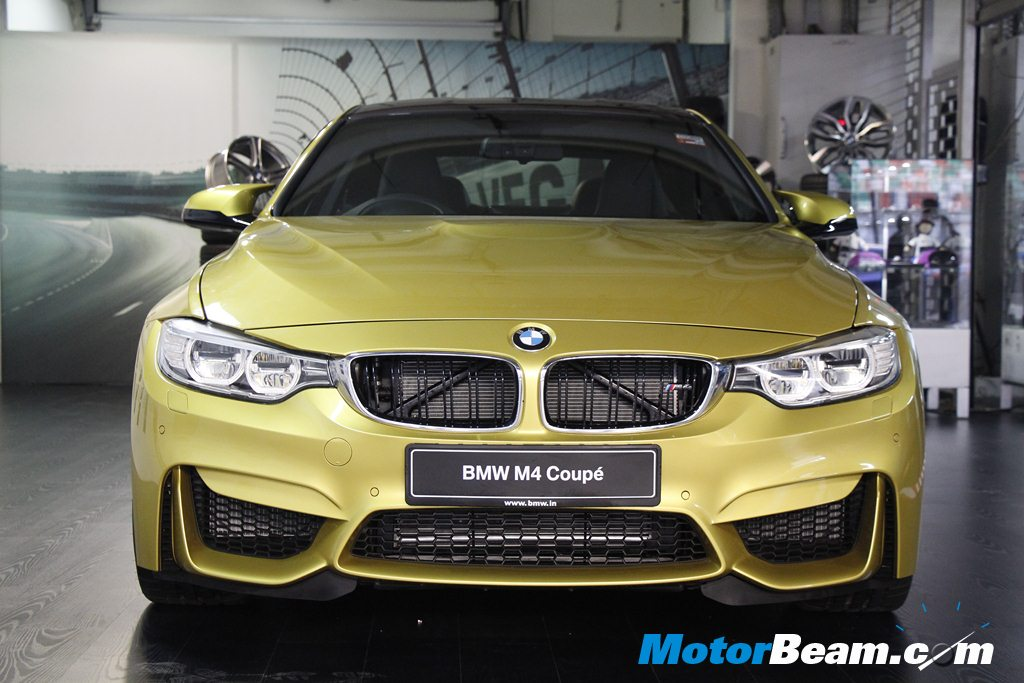2015 BMW M4 Launch Front