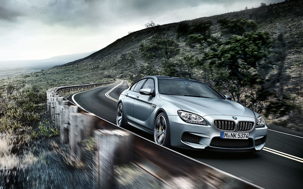 2015 BMW M6 Gran Coupe Front