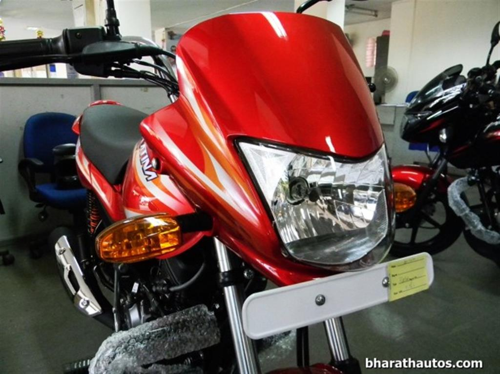 2015 Bajaj Platina 100 ES Changes