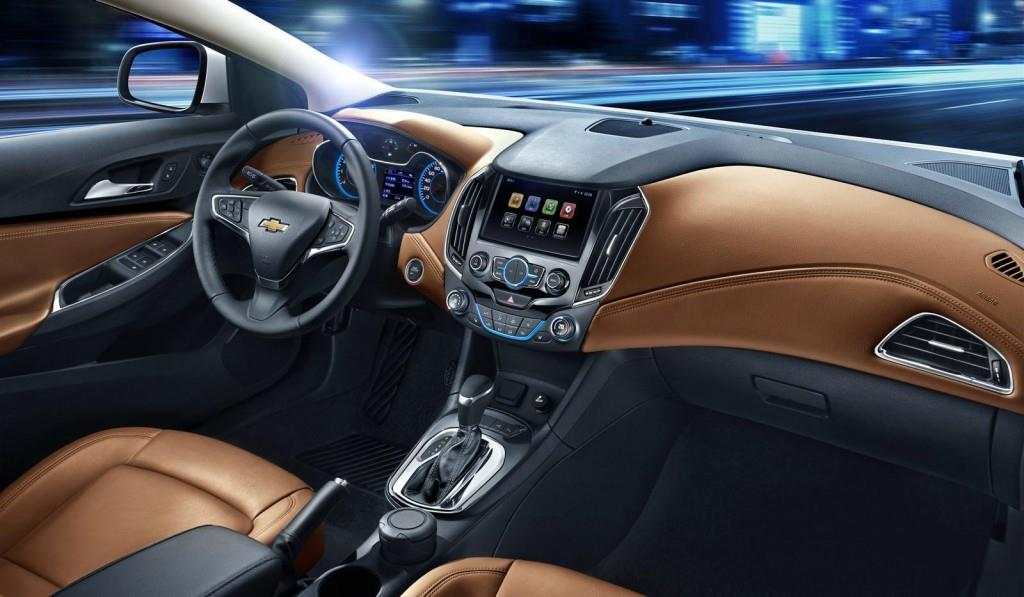 2015 Chevrolet Cruze Dashboard