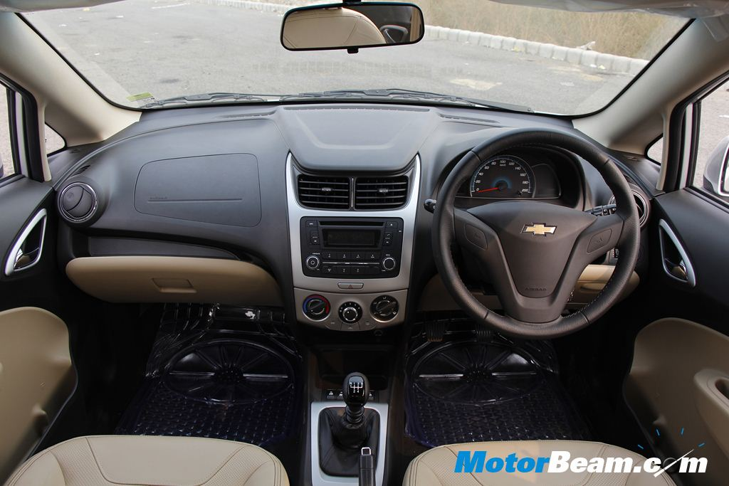 2015 Chevrolet Sail Facelift Dashboard