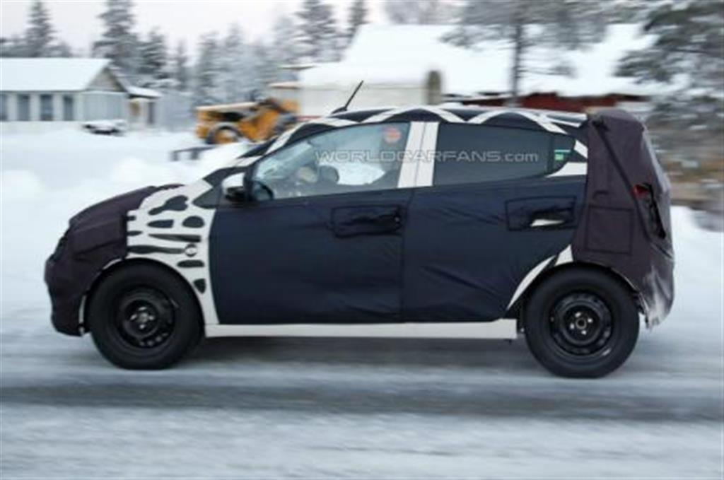 2015 Chevrolet Spark Spy Side