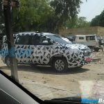 2015 Chevrolet Spin Spied India