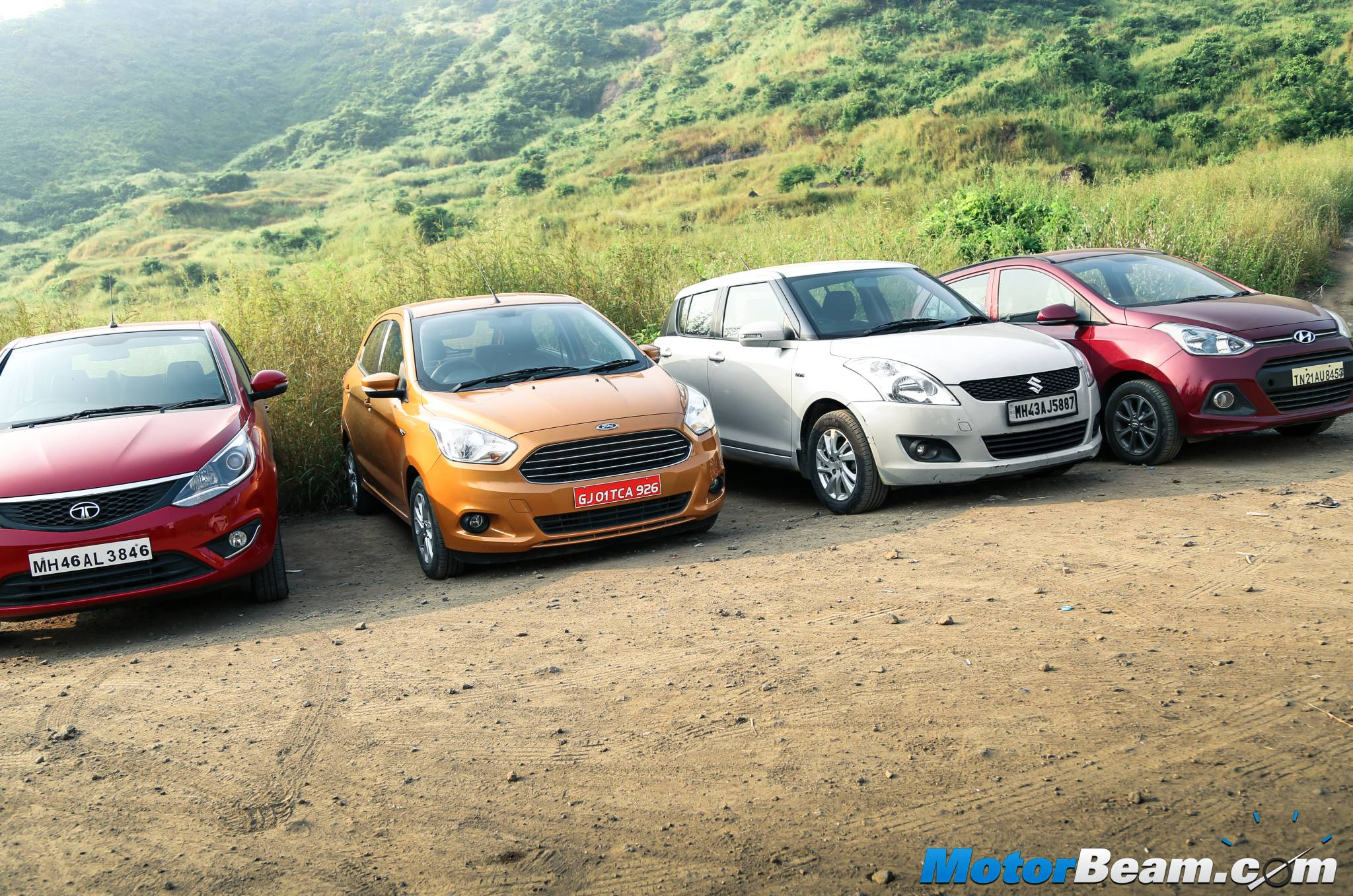 2015 Figo vs Swift vs Grand i10 vs Bolt Review