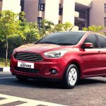 2015 Ford Aspire Front