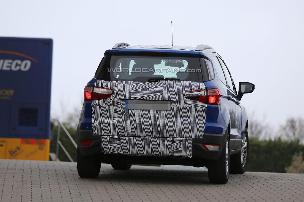 2015 Ford EcoSport Spied Rear
