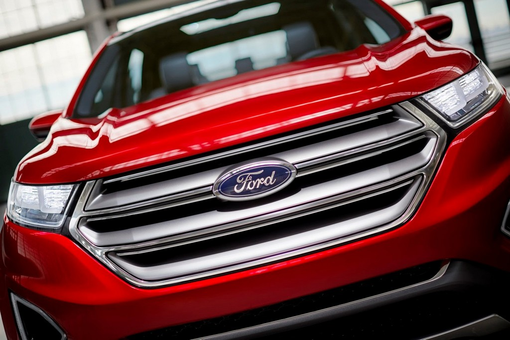 2015 Ford Edge Concept Grille