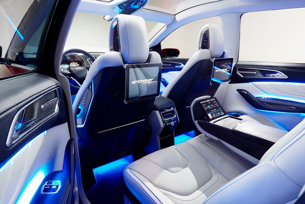 2015 Ford Edge Concept Rear Seat