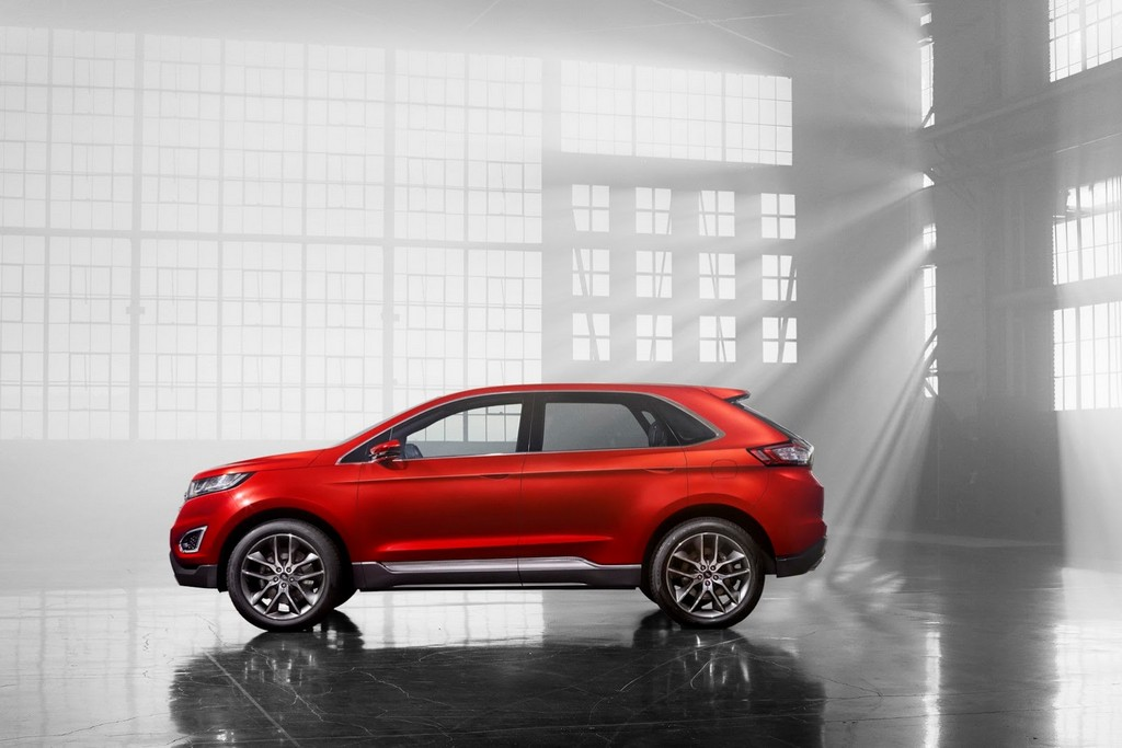 2015 Ford Edge Concept Side