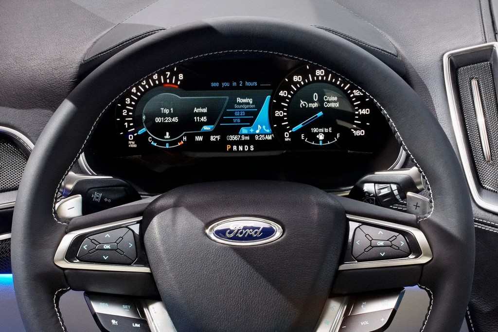 2015 Ford Edge Concept Steering Wheel