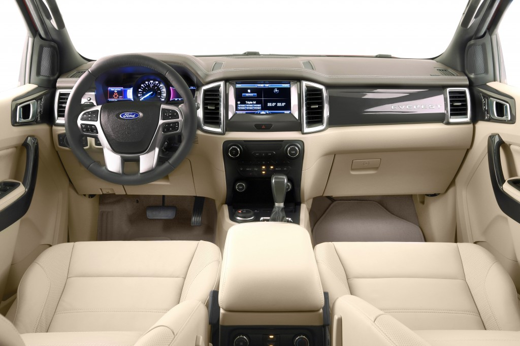 2015 Ford Endeavour Dashboard