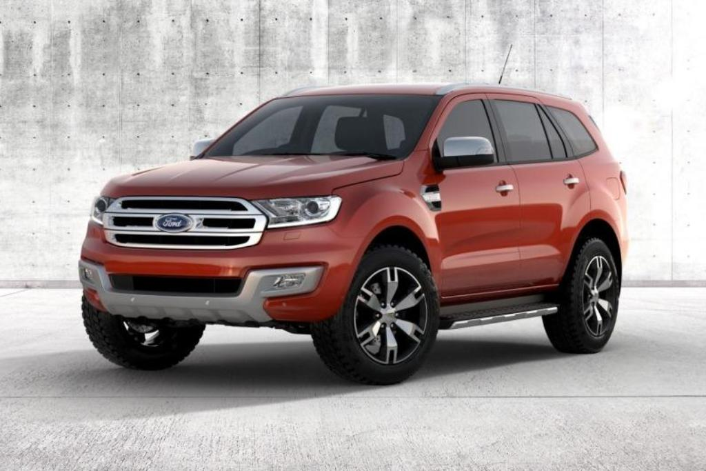 2015 Ford Endeavour Unveil