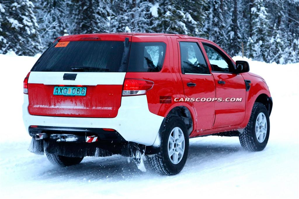 2015 Ford Everest SUV Rear