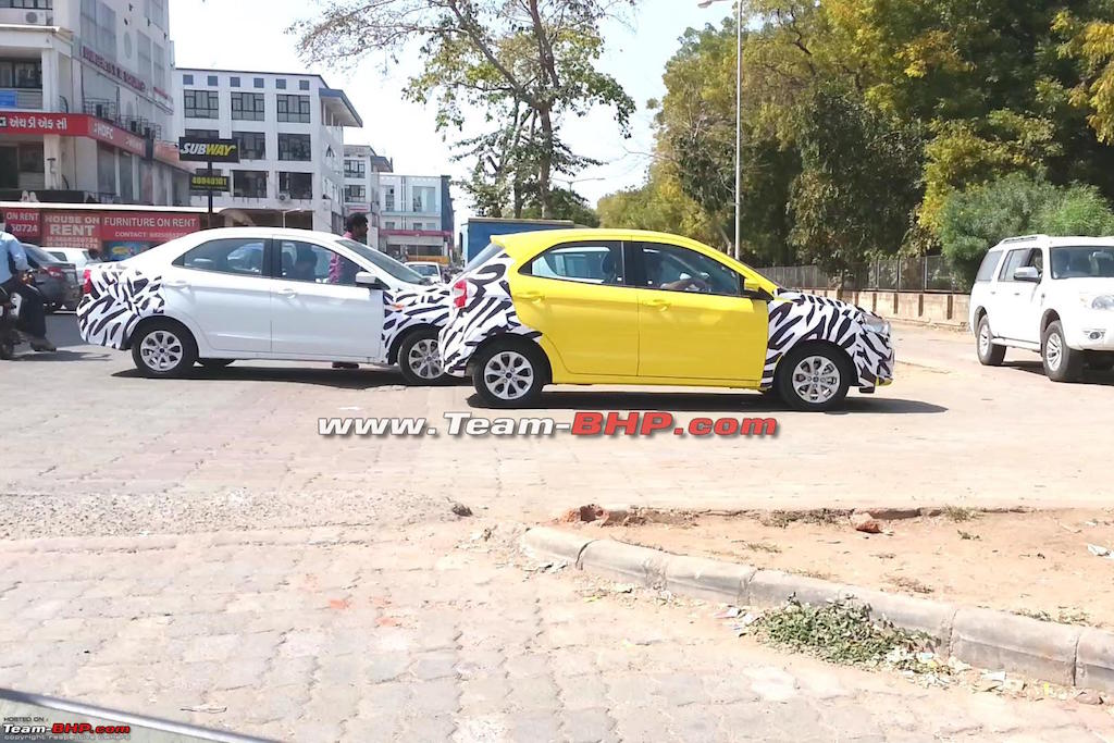 2015 Ford Figo Hatchback Test Mule