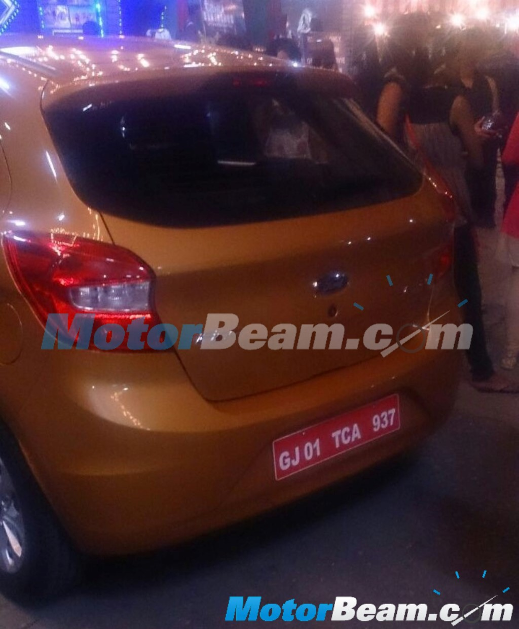 2015 Ford Figo On Test