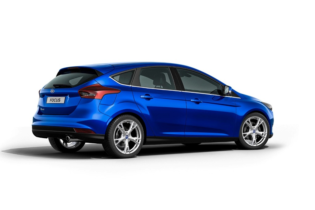 2015 Ford Focus Side