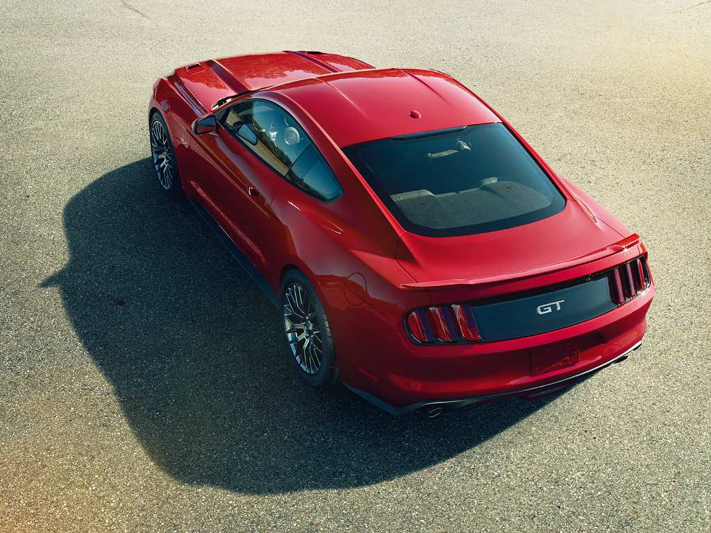 2015 Ford Mustang GT Rear