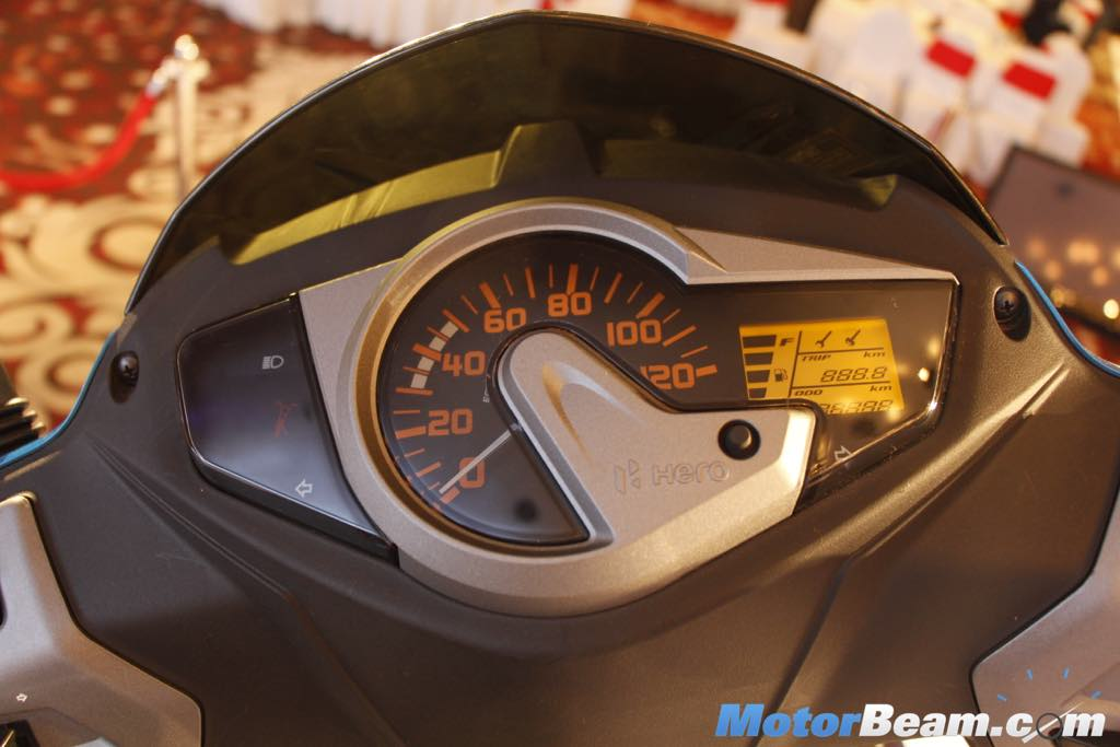 2015 Hero Maestro Edge Instrument Cluster
