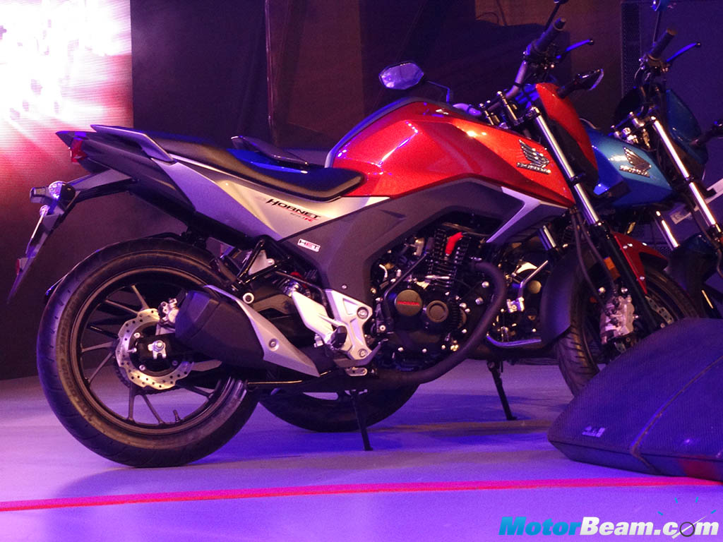 2016 Honda Cb Hornet 160r Launched Priced From Rs 79990