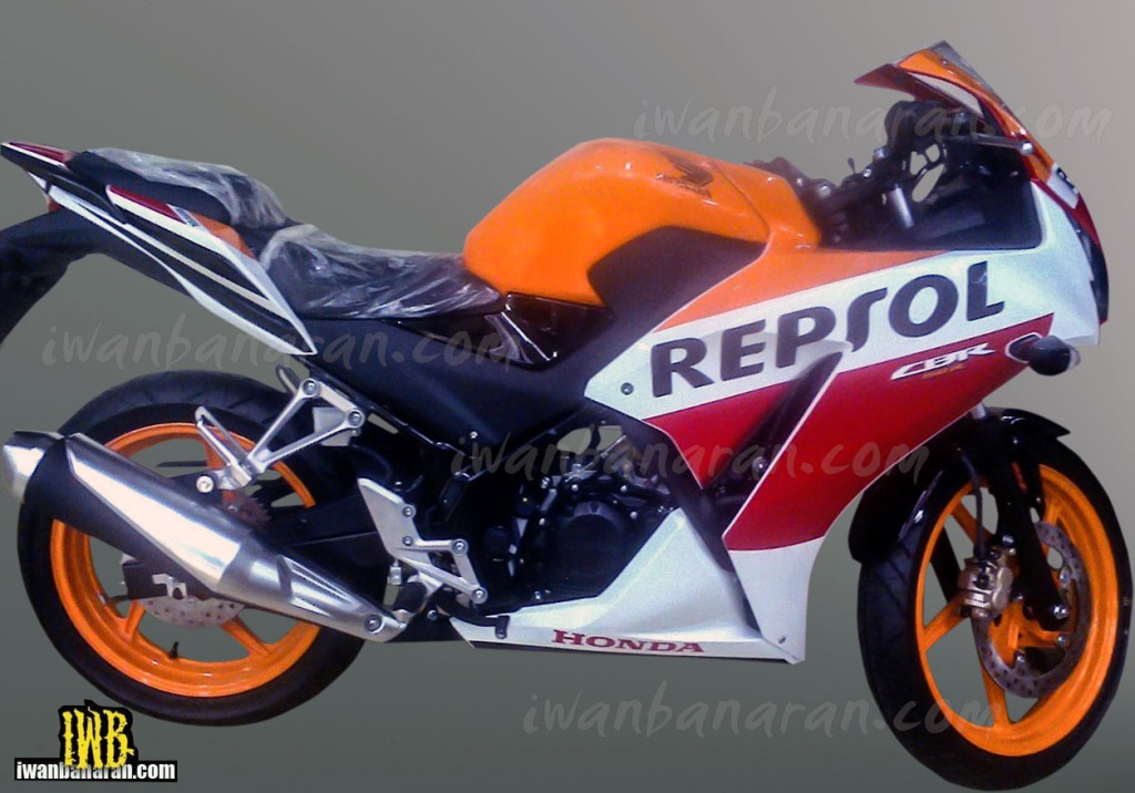 2015 Honda Cbr150r With Repsol Livery Spied In Indonesia