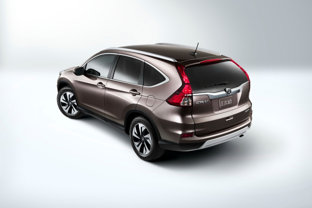 2015 Honda CR-V Launch US