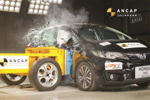 2015 Honda Jazz Crash Test ANCAP