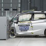 2015 Honda Jazz IIHS Safety Test