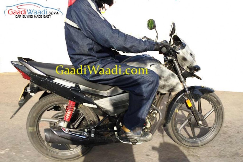2015 Honda Livo Fuel Spy Shot