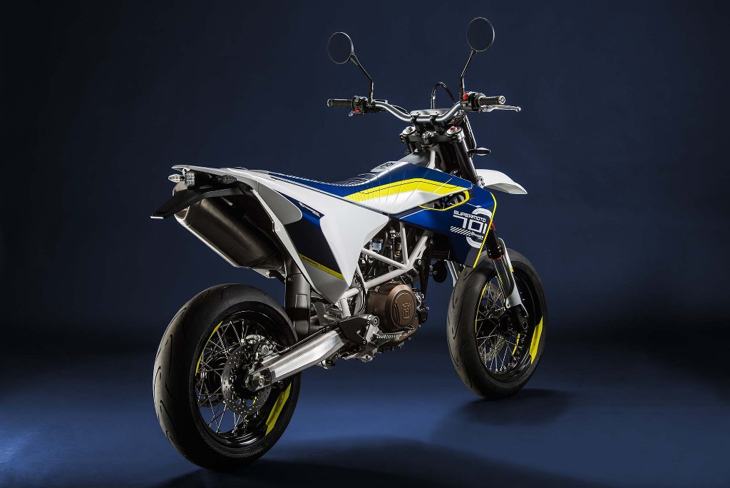 2015 Husqvarna 701 Supermoto Rear
