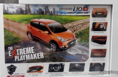 2015 Hyundai Grand i10X Exterior Poster Leaked