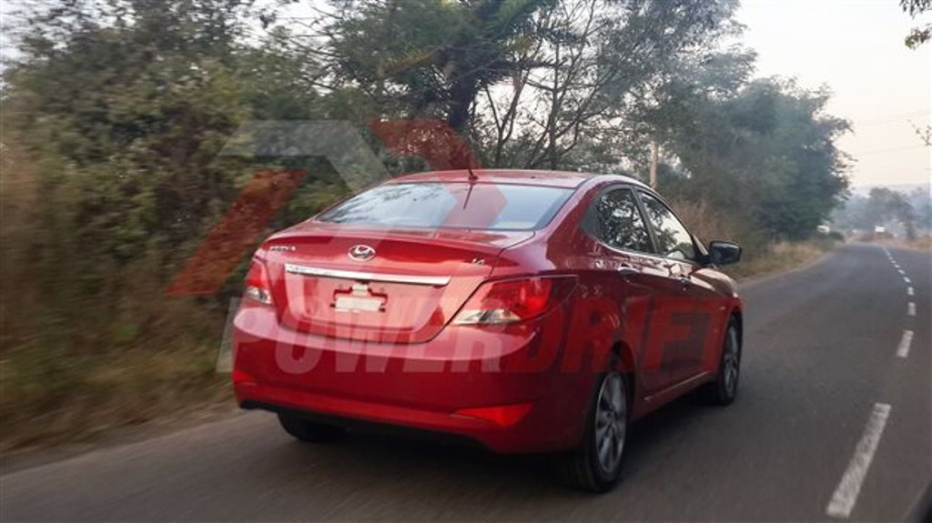 2015 Hyundai Verna Facelift Changes