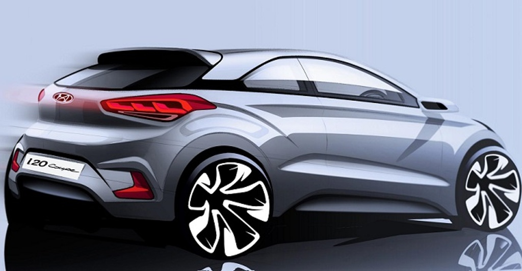 New Gen Hyundai I20 Coupe Previewed In Official Sketch