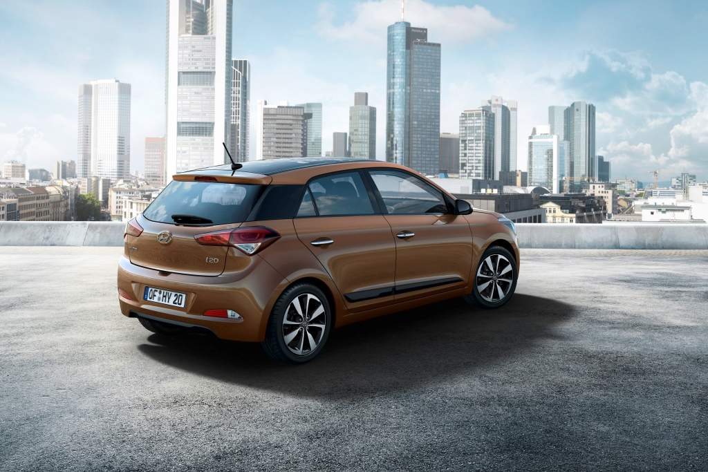 2015 Hyundai i20 Europe Spec Rear