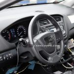 2015 Hyundai i20 Spy Shot Dashboard