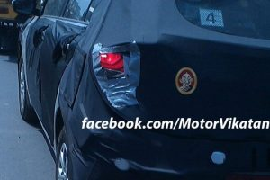 2015 Hyundai i20 Spy Shot Rear