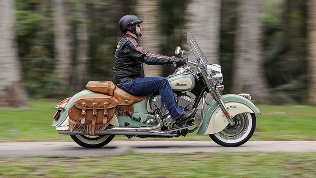 2015 Indian Motorcycles Chief Springfield Blue Ivory Cream Colours