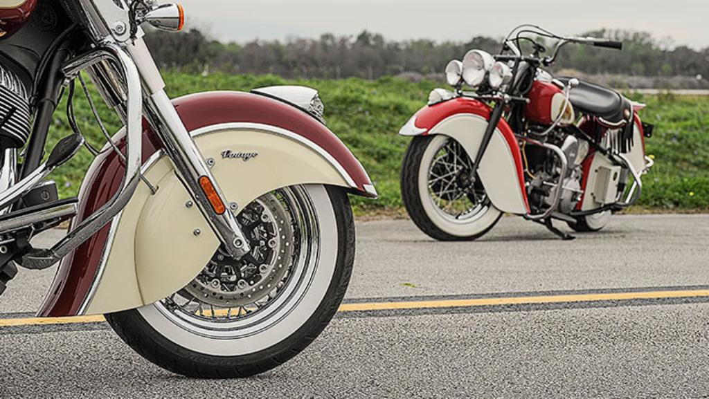 2015 Indian Motorcycles Chief Vintage Two Tone Colour Schemes