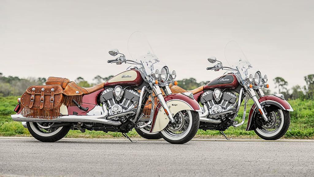 2015 Indian Motorcycles Chief Vintage Two Tone Colours