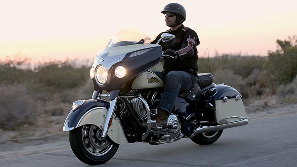 2015 Indian Motorcycles Chieftain Two Tone Colours