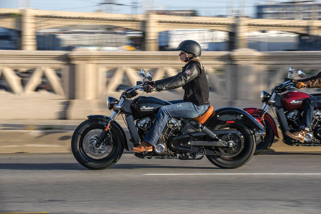 2015 Indian Scout Action