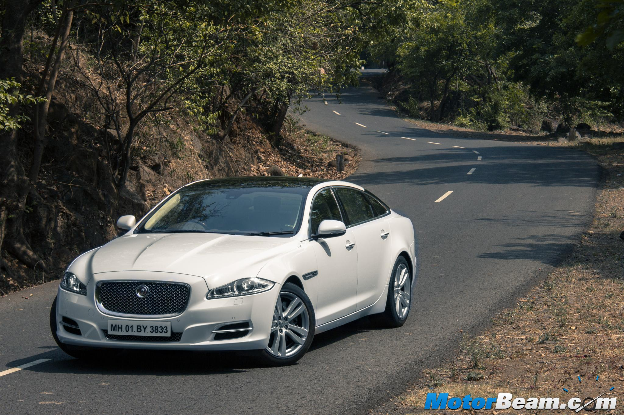 2015 Jaguar XJ Petrol Test Drive Review