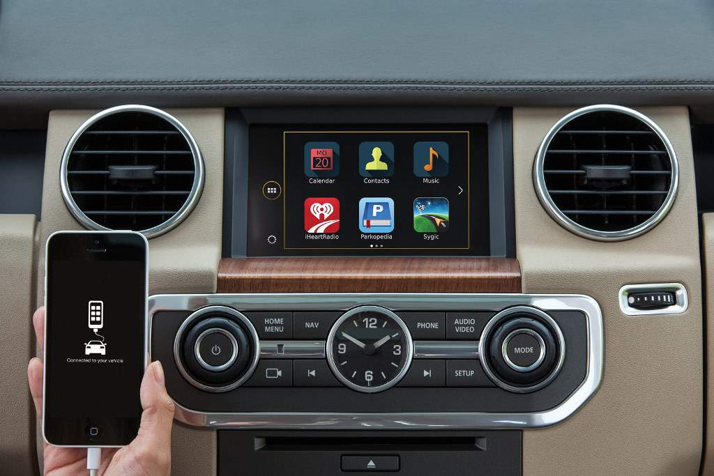 2015 Land Rover Discovery InControl App