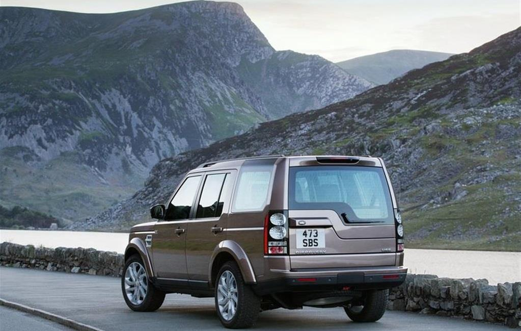 2015 Land Rover Discovery Rear Picture