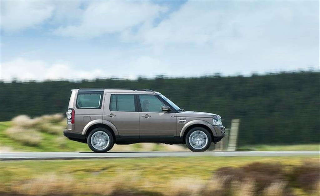 2015 Land Rover Discovery Side Profile