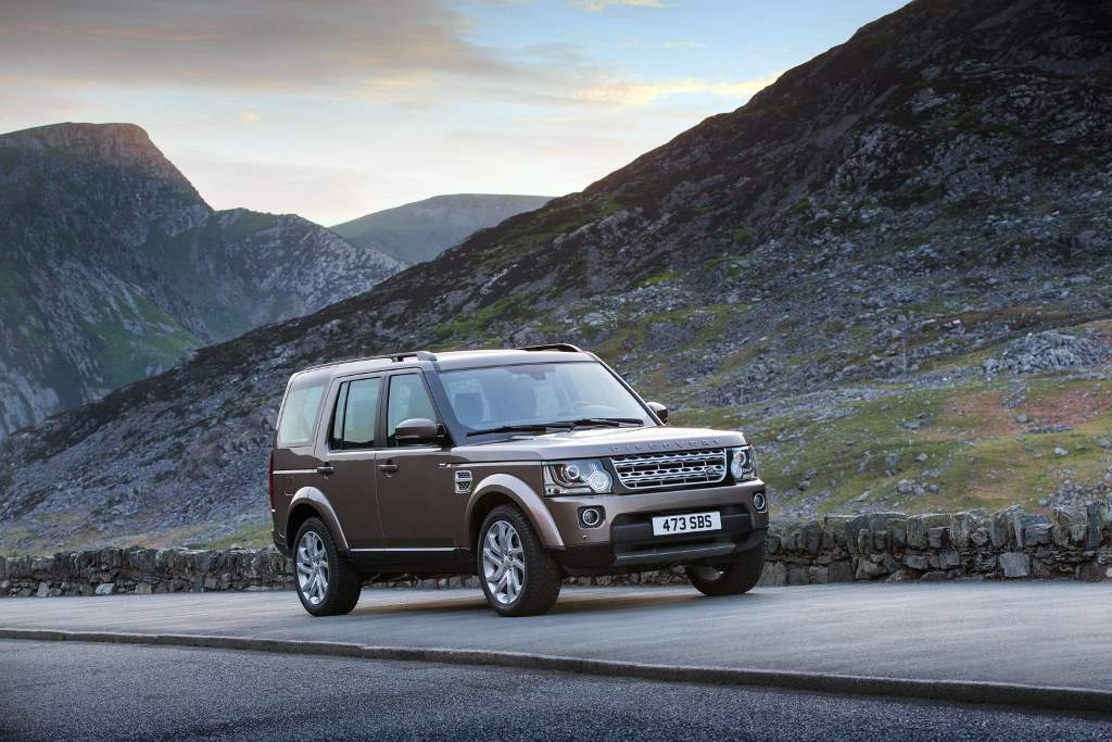 2015 Land Rover Discovery Wallpaper