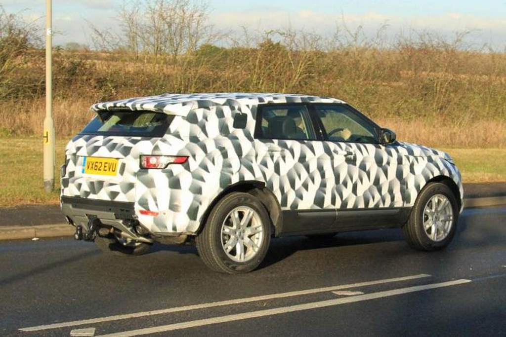 2015 Land Rover Freelander rear