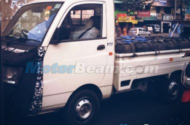 2015 Mahindra Maxximo Facelift Spied Testing, Launch This Year