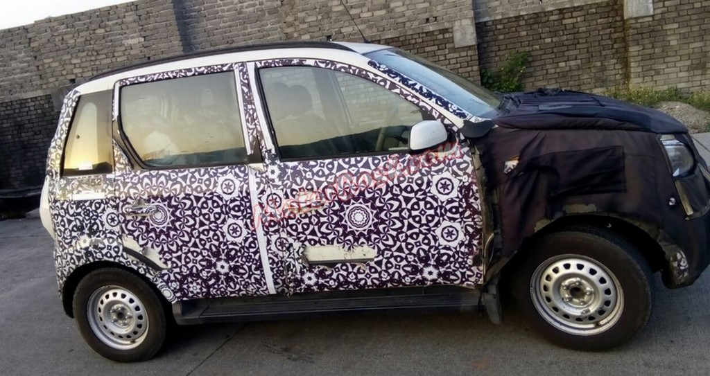 2015 Mahindra Quanto Facelift Spied