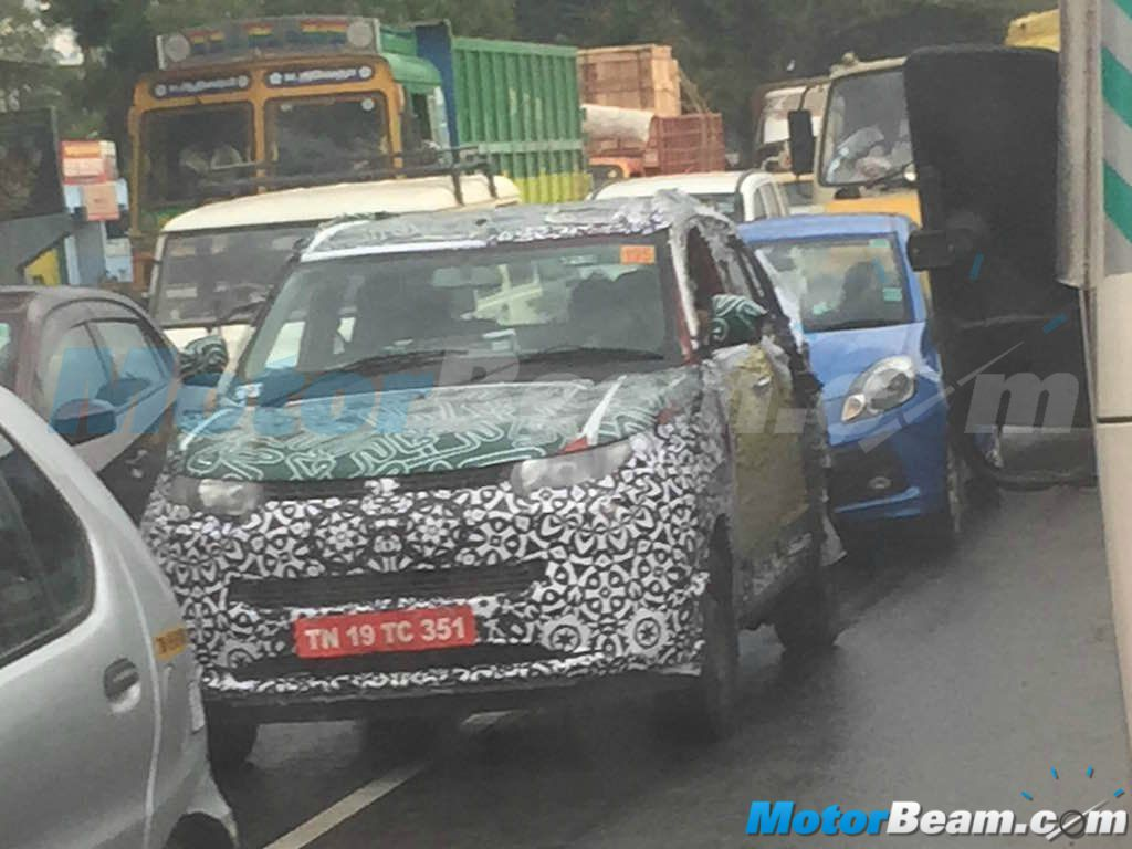 2015 Mahindra S101 Production Ready Spy Shot
