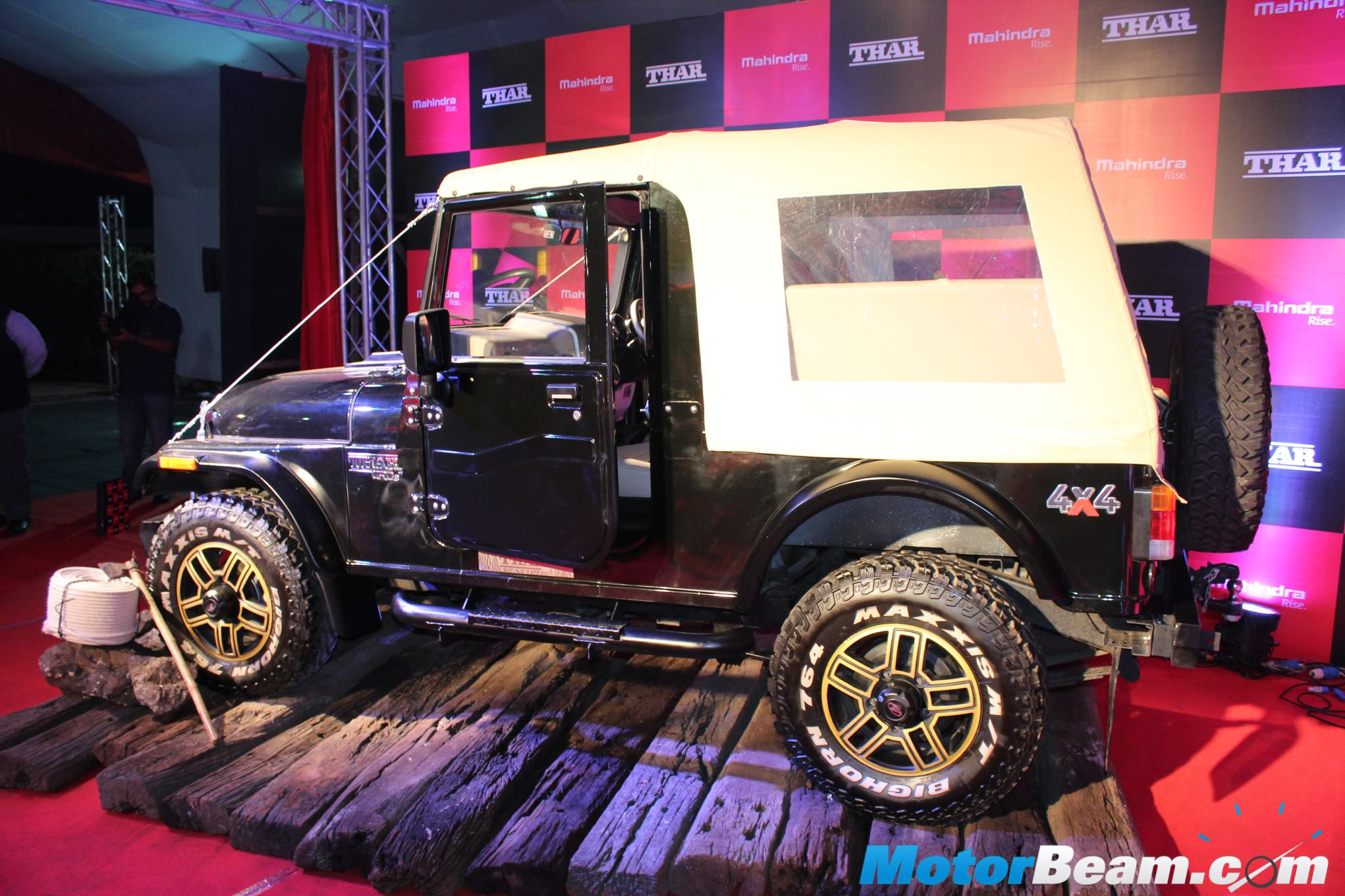 2015 Mahindra Thar Accessories